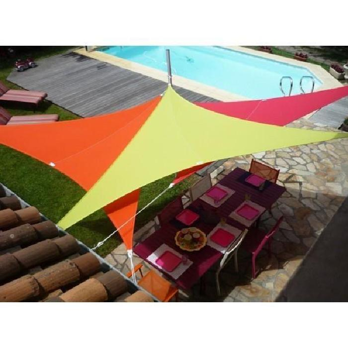 Voile d'ombrage extensible triangle 4 m Easy SailSUN & VELADesign et