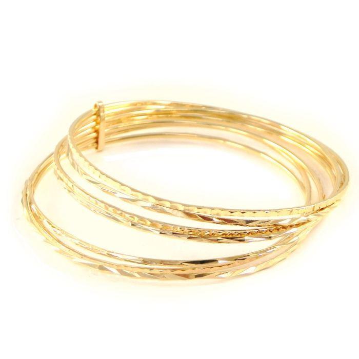 Indémodable et toujours chic le bijoux en plaqué or. Semainier