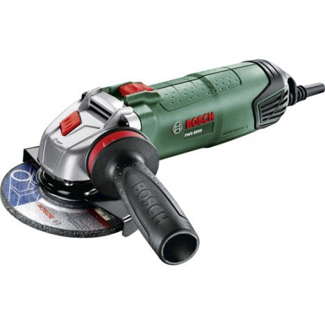 Meuleuse d'angle Filaire BOSCH, Pws8000, 800 W  