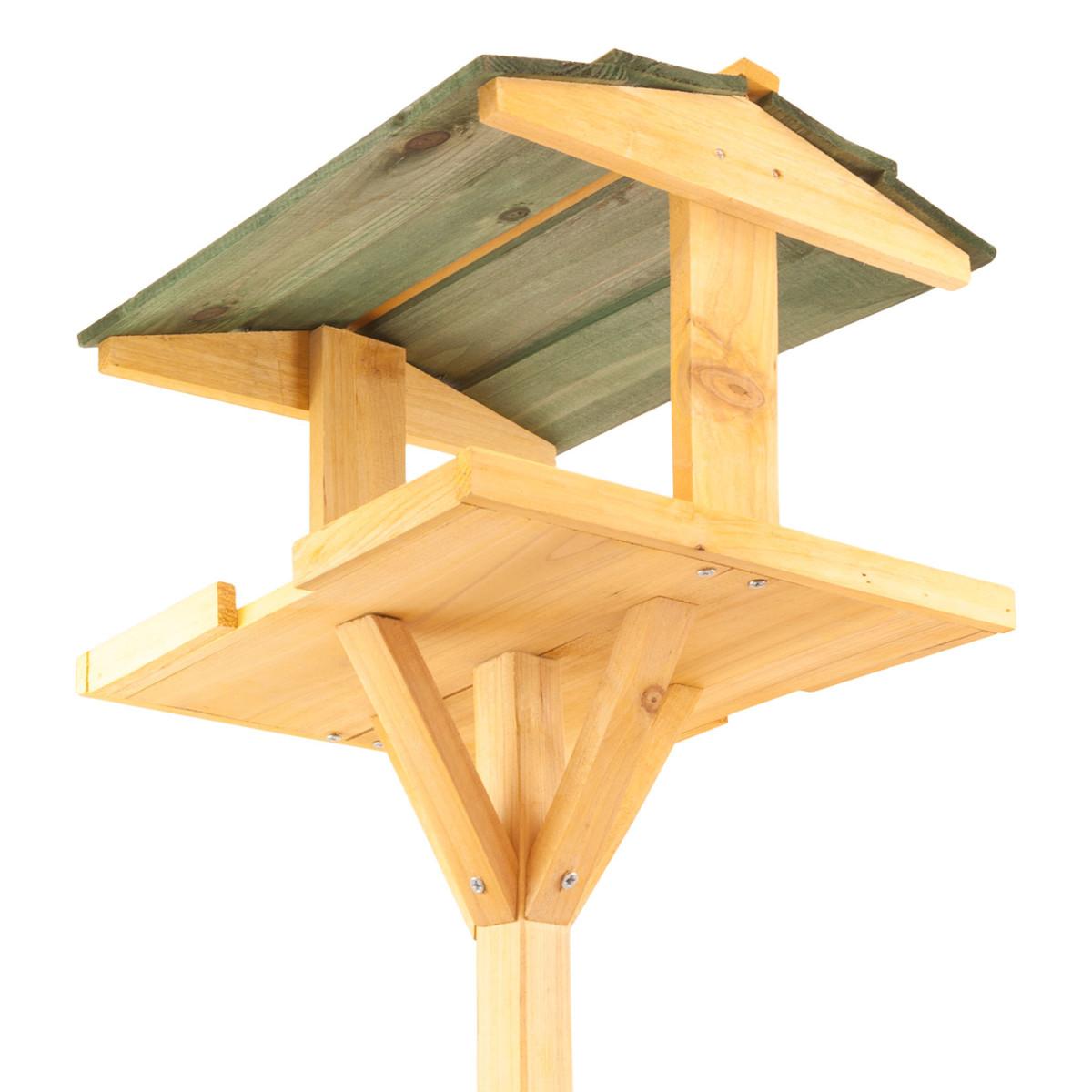 Nichoir Oiseau Abri à nourriture Mangeoires Pour avec