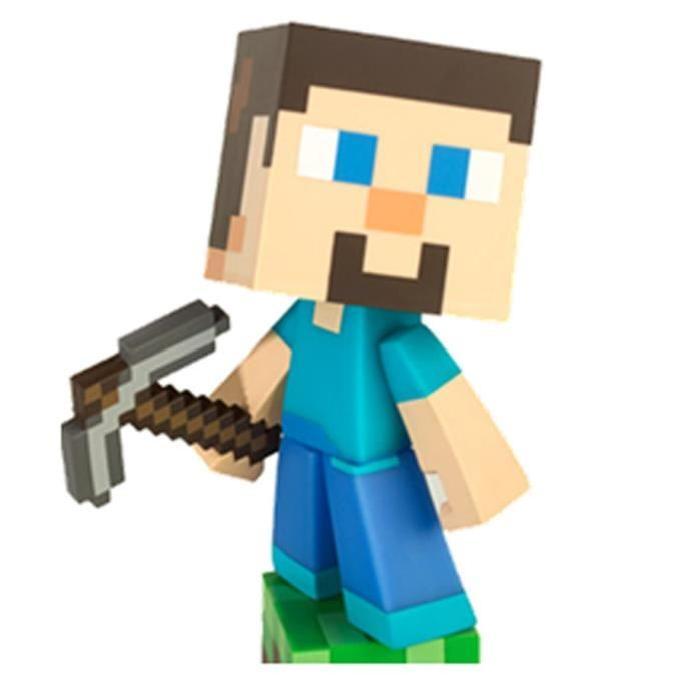 MINECRAFT Figurine 15 Cm Steve Minecraft Achat / Vente figurine