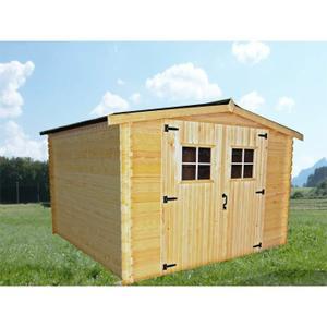 chalet bois 12m2 topiwall. Black Bedroom Furniture Sets. Home Design Ideas