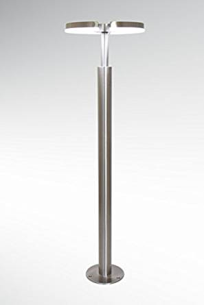 Kiom 10499 Wing Out S2 Lampadaire d'extérieur LED avec détecteur de