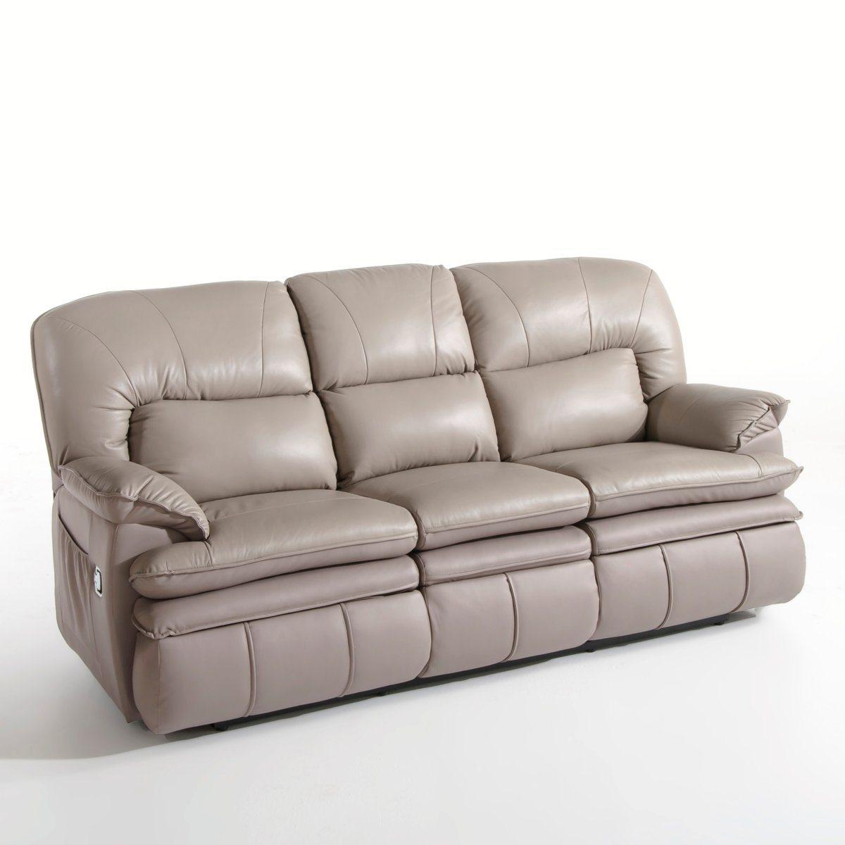 Canapé relaxation, cuir, 2 versions, matei Interieurs | La