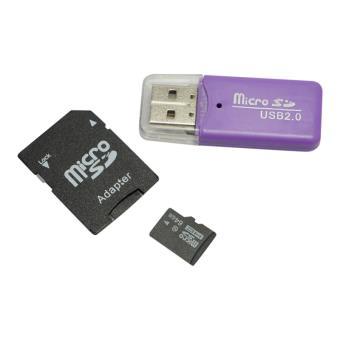 Carte mémoire micro SD 64 go + adaptateur SD + clé USB adaptateur
