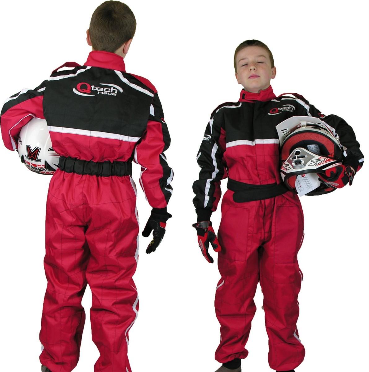Enfants tenue de course combinaison karting motocross racing one piece