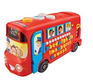 Vtech Playtime Bus with Phonics Autobus Educatif Version Anglaise