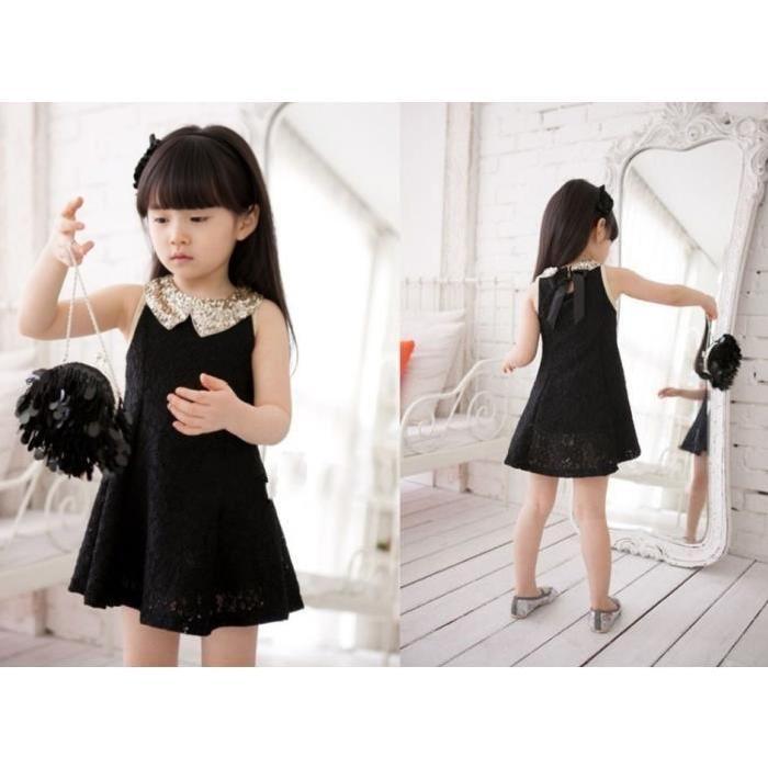 Cérémonie Mariage Noire en dentelle noir Achat / Vente robe Robe