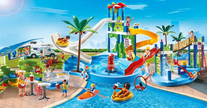 PLAYMOBIL 6670 Aire de jeux aquatique Achat / Vente univers