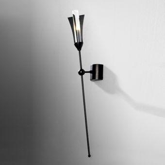 Market Set Applique murale couleur noire «Massaï» 1 lampe halogène