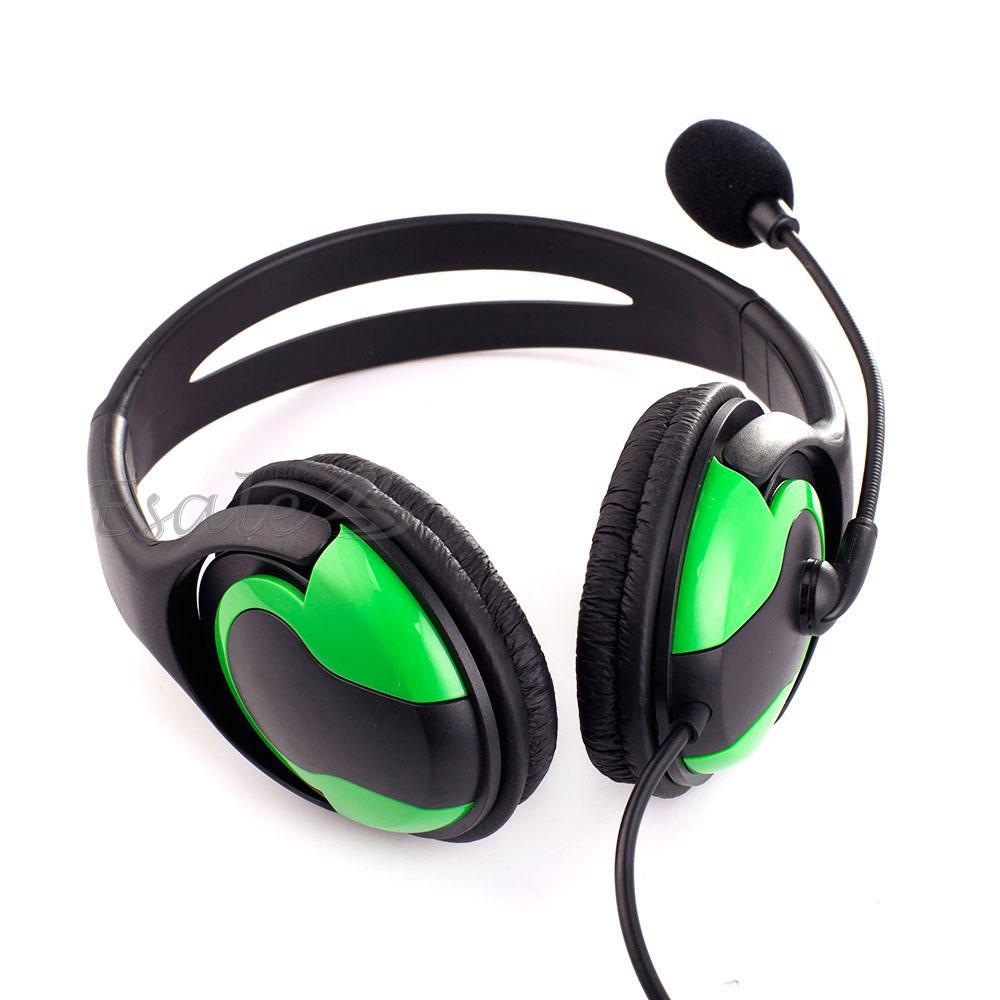 Casque Écouteur Headset Filaire Stéréo Microphone MIC Pour Jeux PS3