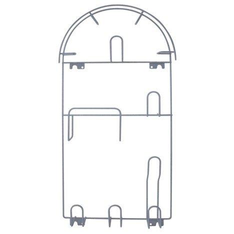 Porte aspirateur gris H.60 x l.29 x P.7 cm |
