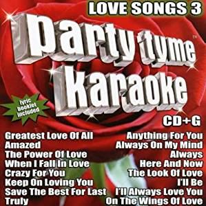 Party Tyme Karaoke Love Songs: Sybersound: Musique