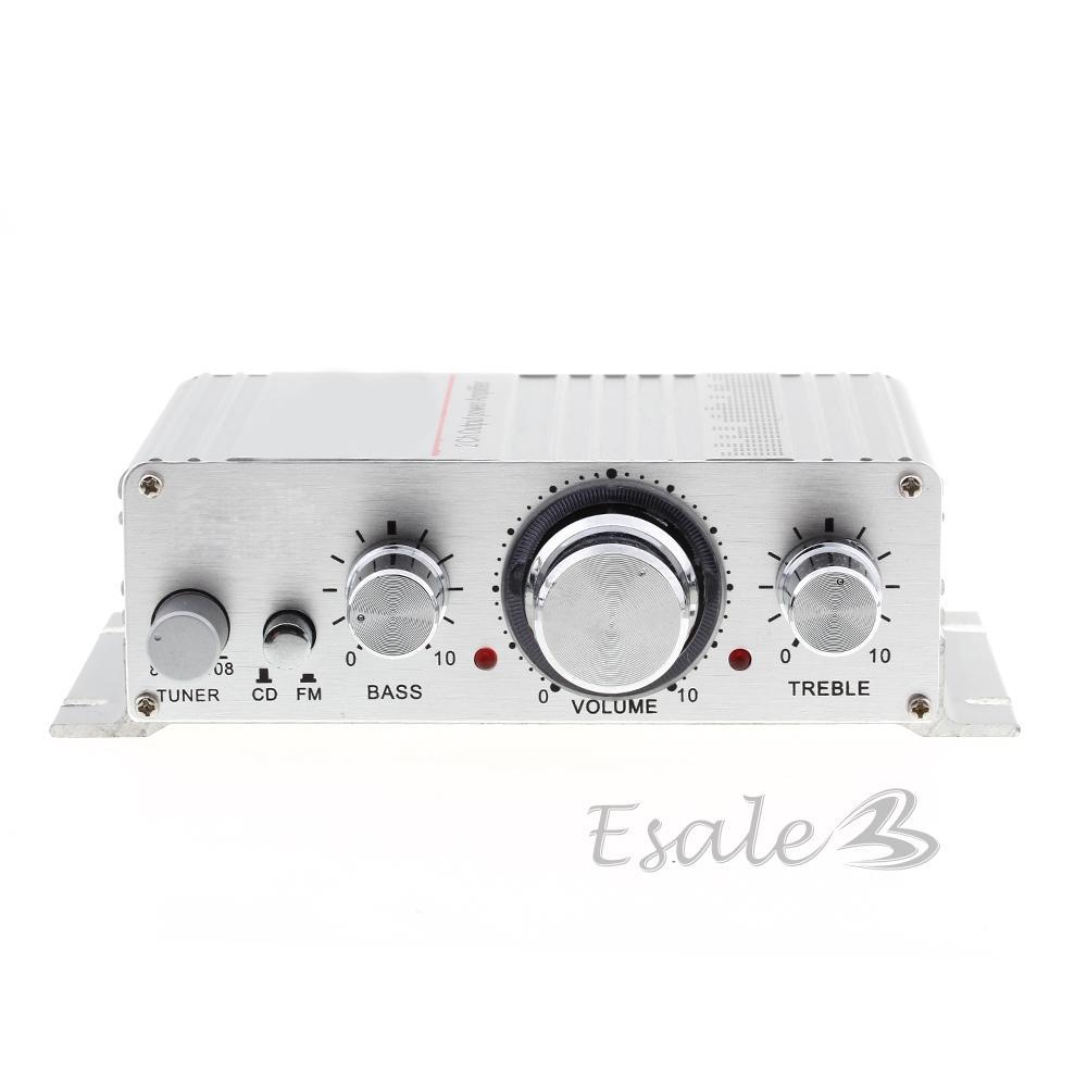 Amplificateur Sono Haut Parleur Hifi Audio Stéréo DC 12V/2A pour