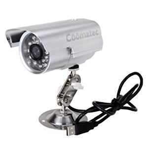 sécurité caméra enregistreur en utilisant Micro SD/TF carte
