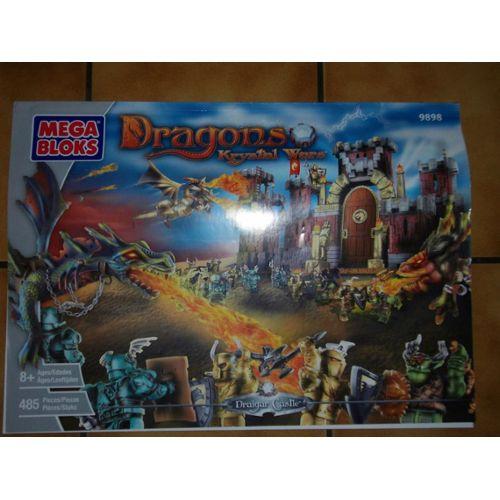 Mega Bloks Dragons Krystal Wars Draigar Castle 9898 Mega Bloks