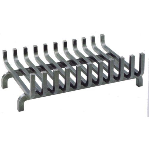 Dixneuf Grille de cheminée en acier Zebre Grand modèle pas cher