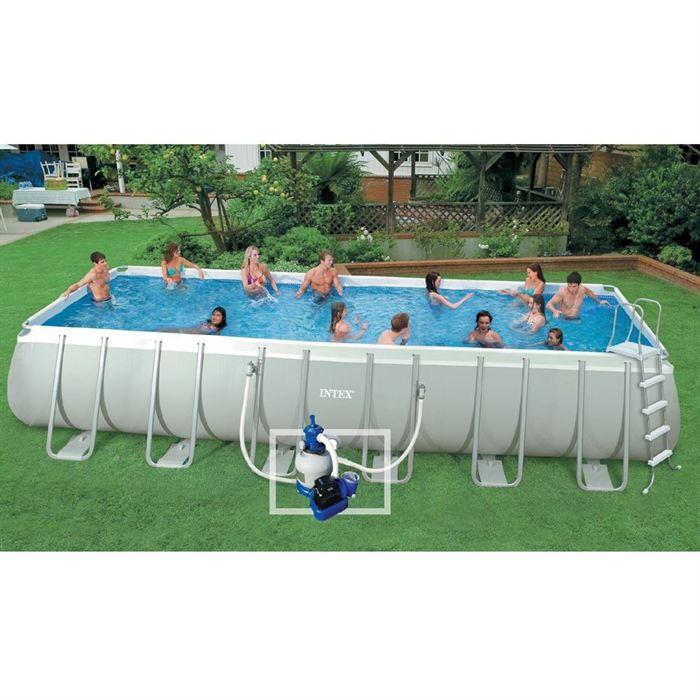 Kit piscine tubulaire 7,32×3,66m ULTRASILVER Achat / Vente piscine
