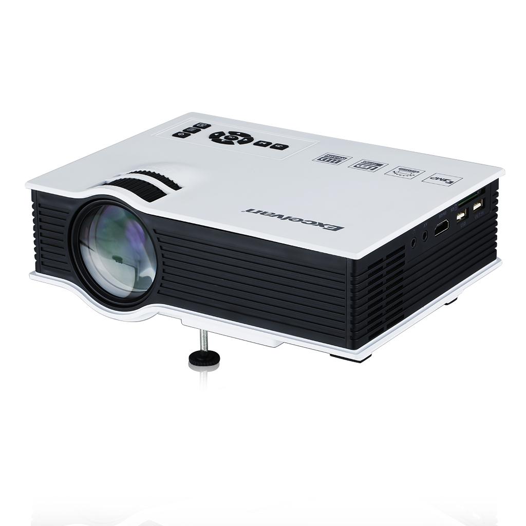 LED Vidéoprojecteu r Mini Portable Projecteur Multimédia USB AV HDMI