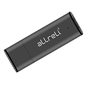 aLLreLi 8 Go Enregistreur Numérique Vocal Clé USB Dictaphone