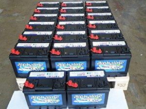 20x Batterie bateaux, camping car, caravane, marine: High