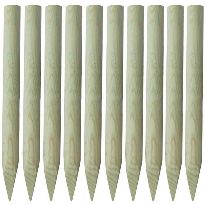 / Vente piquet poteau Lot de 10 piquets de clôtur