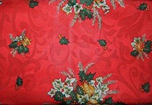 de fête noël et jour de l'an réveillon table ronde 150cm tissu