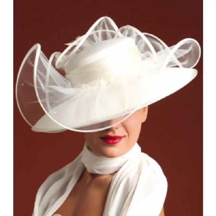 Chapeau, capeline, femme, modele VERTIGE beige Blanc Achat