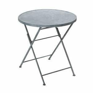 Table ronde de jardin metal Achat / Vente Table ronde de jardin