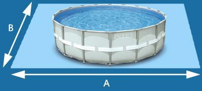 DESCRIPTION : INTEX Piscine tubulaire Ultra 5,49×1,32m + filtre à