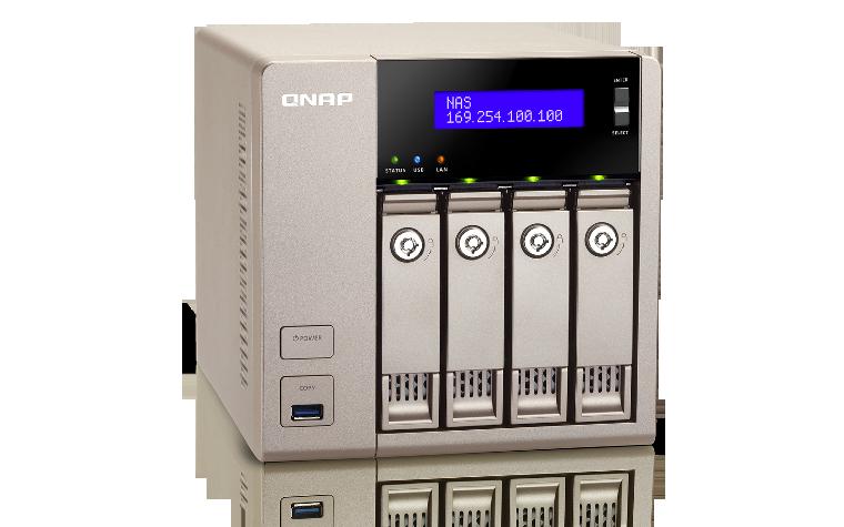 QNAP TVS 463 4G Serveur de Stockage en Réseau NAS pour 4