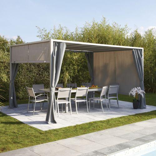 pergola bois topiwall. Black Bedroom Furniture Sets. Home Design Ideas