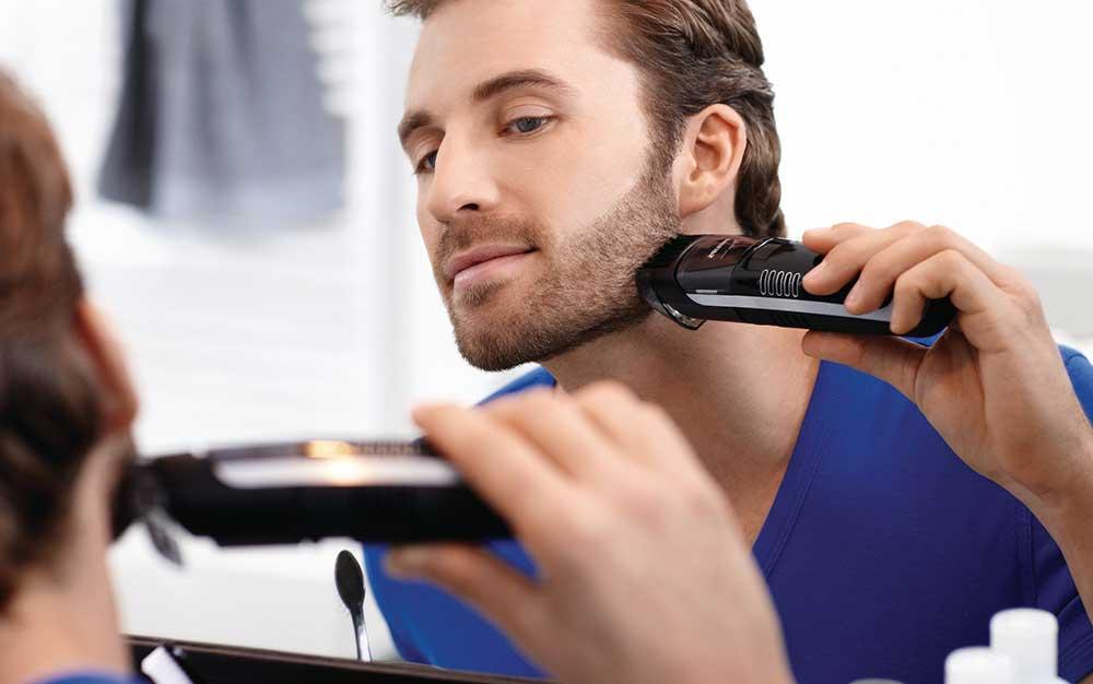 Philips BT7085/32 Tondeuse Barbe avec Système d'Aspiration des Poils