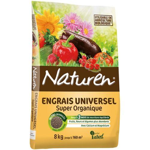 Engrais universel Naturen® 8 kg pas cher Achat / Vente Engrais