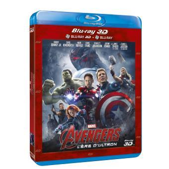 Avengers : L'ère d'Ultron Blu Ray 3D + Blu Ray 2D Blu Ray Joss