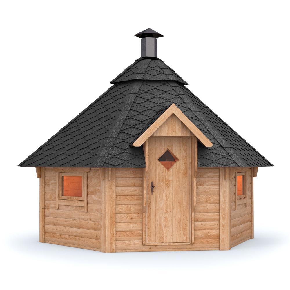 Isidor grillkota pavillon cabane de jardin barbecue cabane Kota foyer