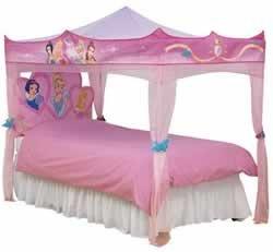 Disney Princess s'allume lit à baldaquin unique: Jeux et