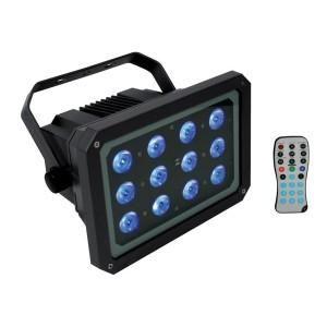 Projecteur exterieur avec telecommande topiwall - Spot led telecommande ...
