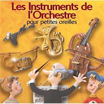 instruments de l'orchestre pour petites oreilles Disque pour enfants