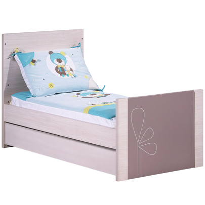 Opale Lit évolutif Little Big Bed 70x140cm de Sauthon Easy, Lits
