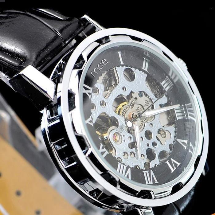 Montre Mécanique Automatique Homme cadran rond , Achat/vente montre