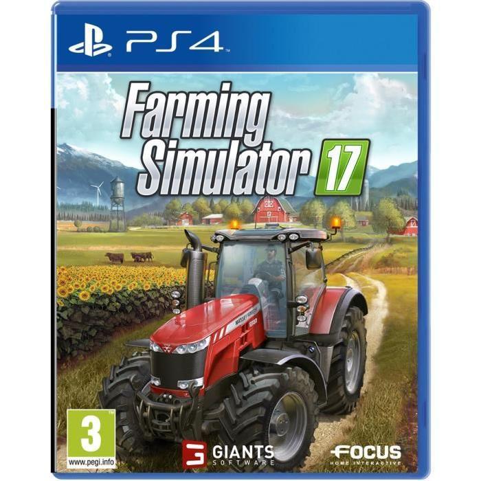 PS4 Achat / Vente jeu ps4 Farming Simulator 2017 Jeu PS4