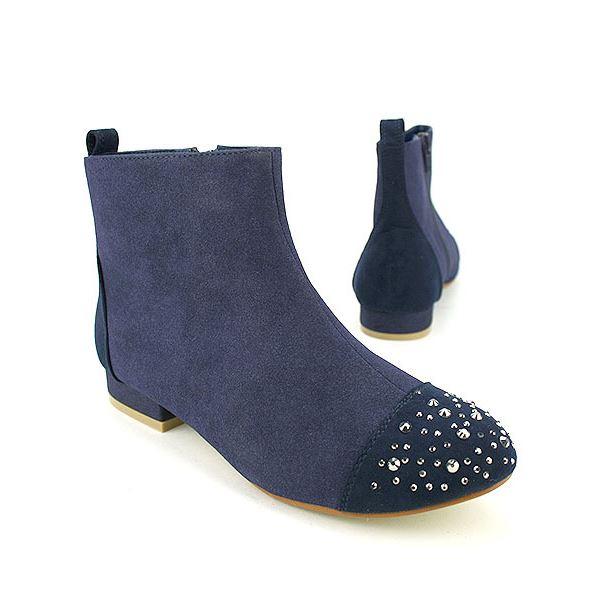 Bottines Bleu Chaussures Femme, Achat / Vente Bottines Bleu