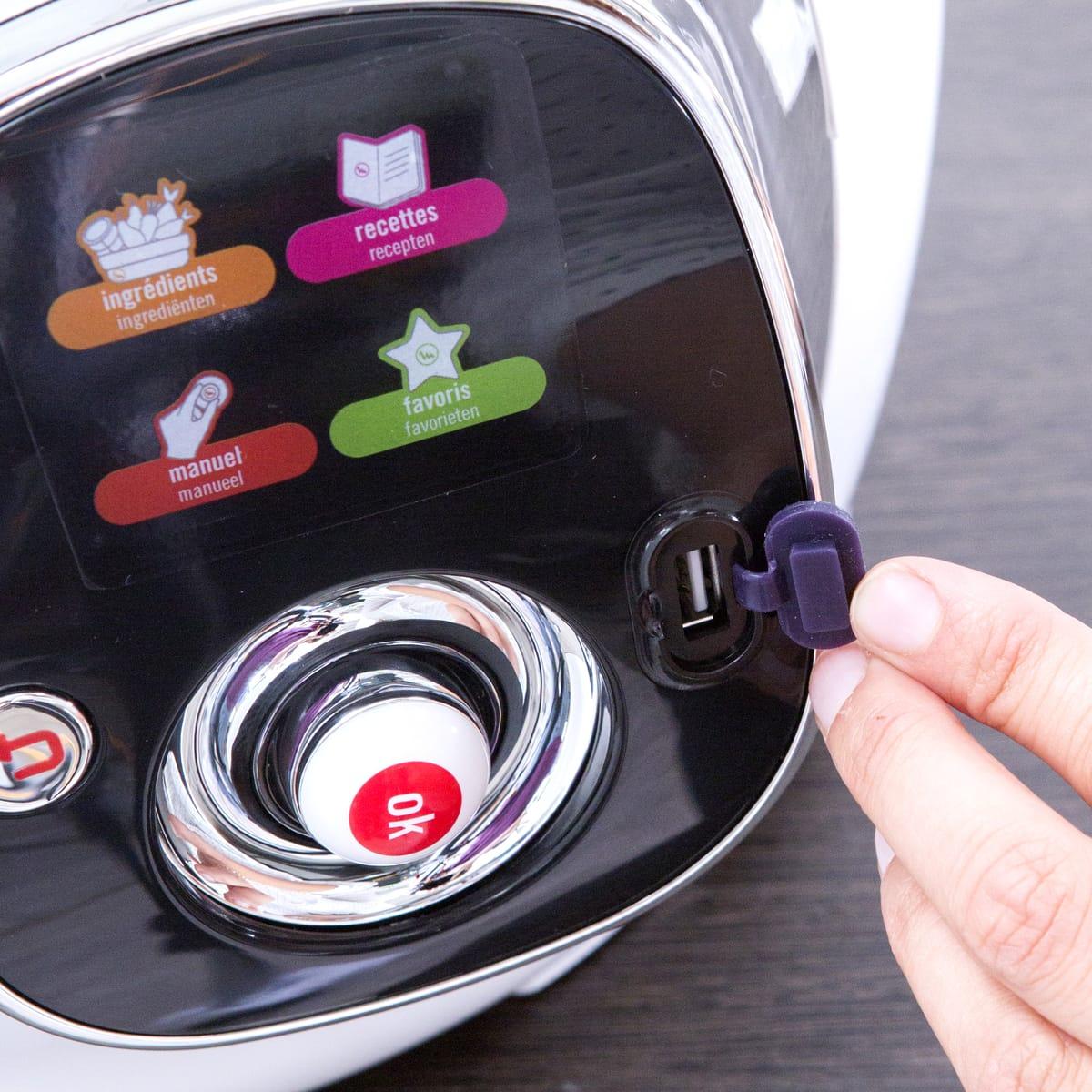 Mijoteur Cookeo CE7021 USB interactif et intelligent MOULINEX pas cher