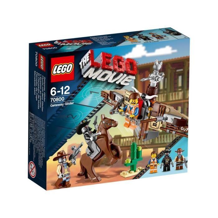 LEGO MOVIE 70800 L'Evasion en Planeur Achat / Vente assemblage