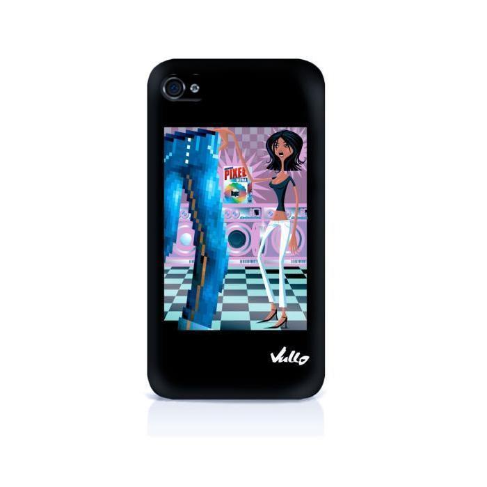 coque rigide matt vullo pixel iphone 4 coque rigide matt vullo pixel