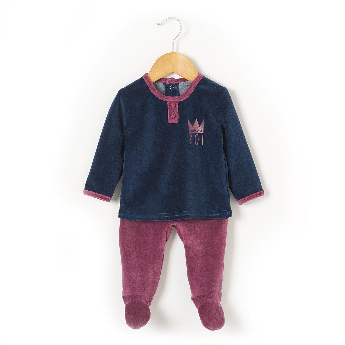 Pyjama velours R Baby