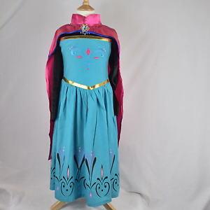 reine des neiges elsa couronnement costume dguisement robe cape 2 to - Robe Anna Reine Des Neiges