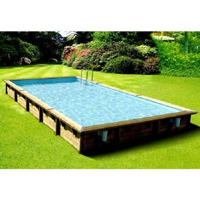 Piscine Hors Sol Bois Rectangulaire 500×800 Achat / Vente piscine