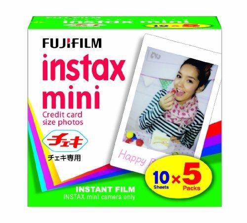 Polaroid 300 Fuji Fujifilm Instax Mini Blanc x 100 Film 7